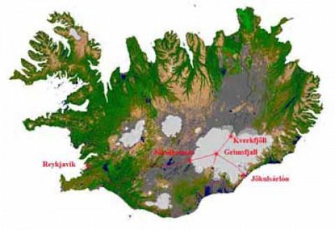 Laguna Jokulsarlon, Islandia