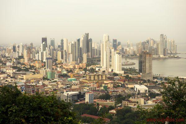 Vistas desde el Cerro Ancon de Panama