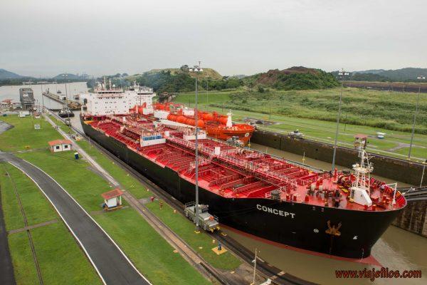 Esclusa Miraflores del canal de Panamá