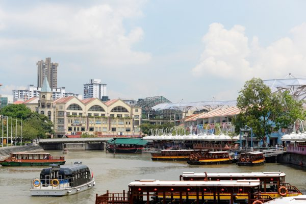 Clark Quay de Singapur