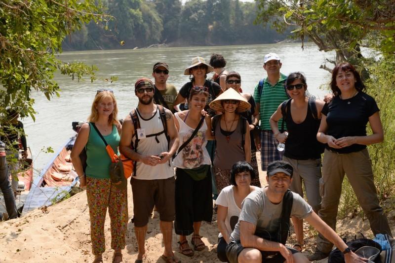 Navegación por el lago Tonle de Camboya