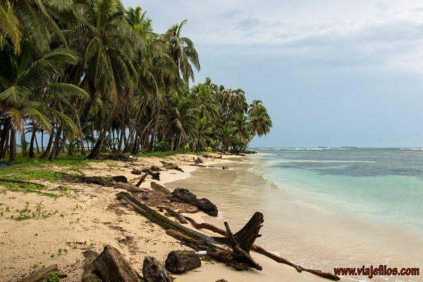 Las playas de las islas de San Blas