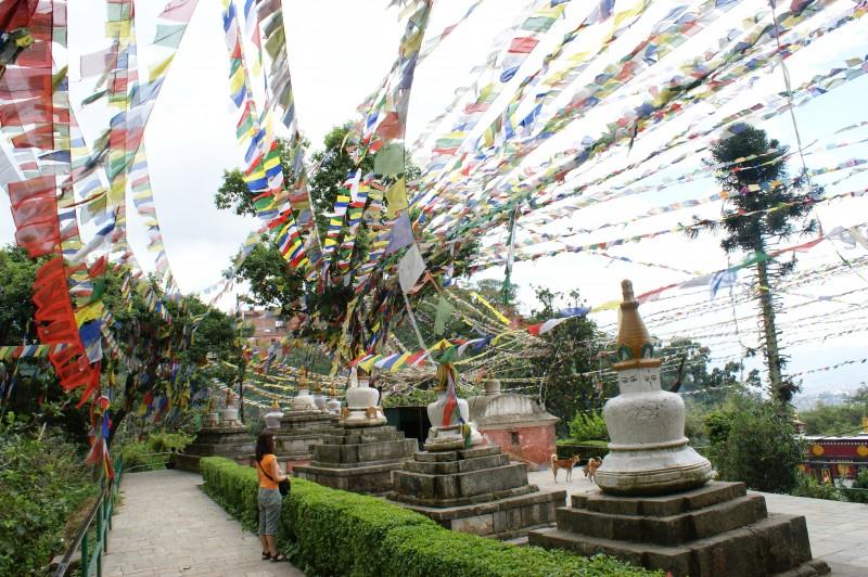 Swayambhunath (el templo de los monos)