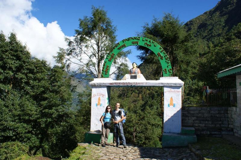 Lukla, trekking en Nepal