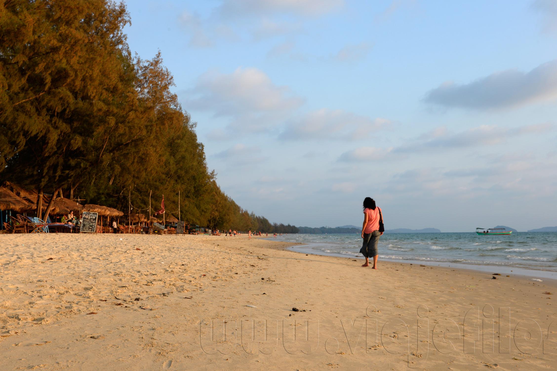 Las playas de Camboya