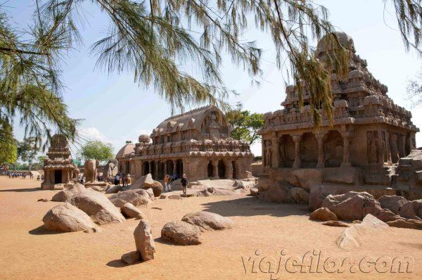 Los templos de Mahabalipuram
