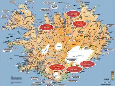 Hoja de ruta, Islandia