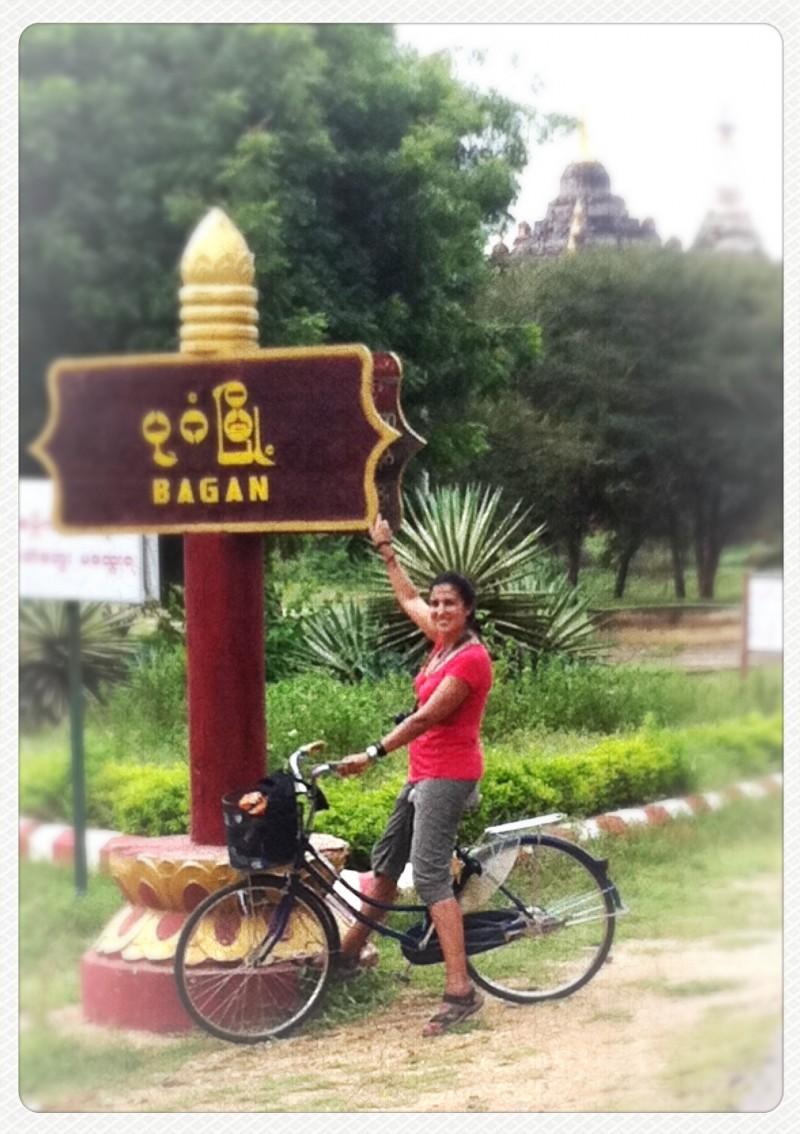 Templos de Bagan en bicicleta