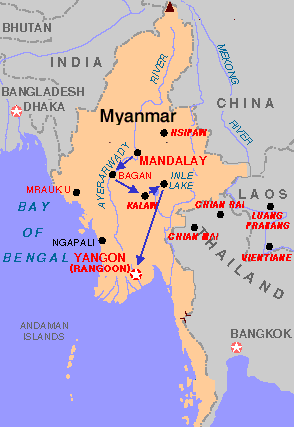 Objetivo Birmania (Myanmar). Segunda parte: Bagán, Lago Inle, Bago y Yangón