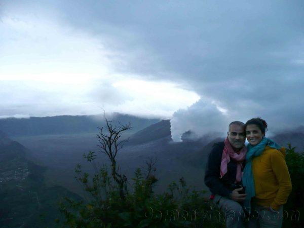 Amanecer en el volcán Bromo