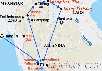 Norte de Tailandia: Chiang Mai y Chiang Rai