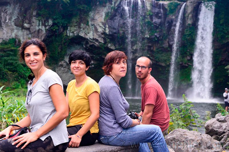 cascada de Jeongbang
