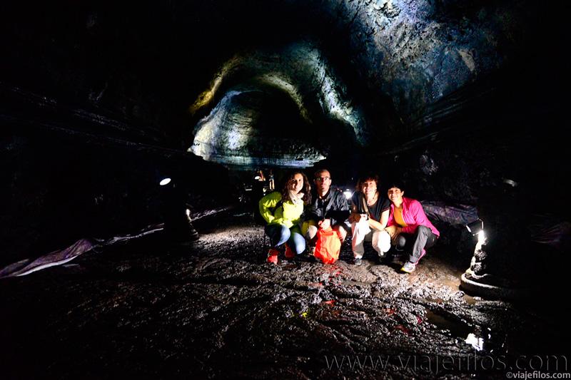Túnel de lava de Manjanggul
