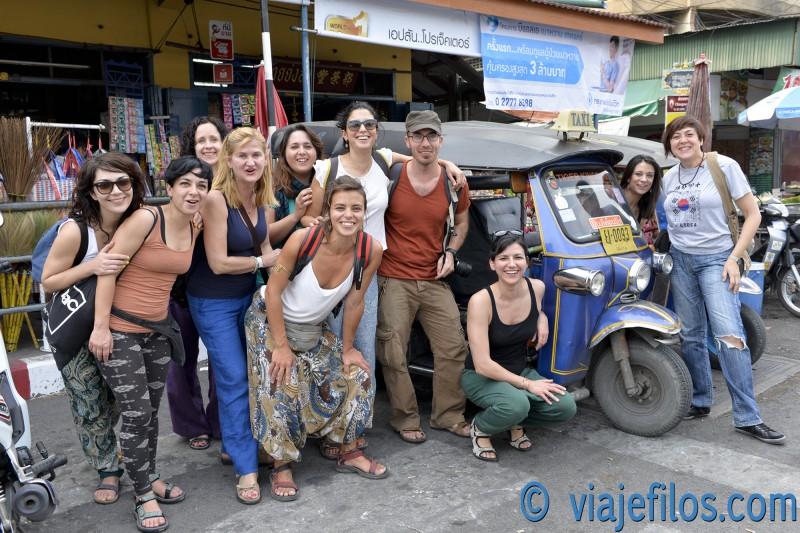 Los tuk tuk, la mejor manera de moverse en Tailandia
