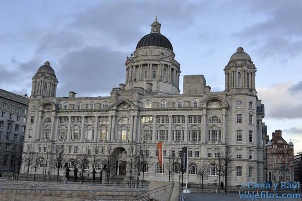 Los famosos edificios de Liverpool