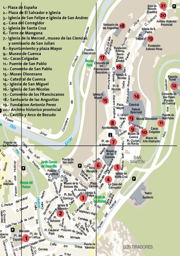 Mapa Ciudad Cuenca