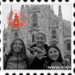 Bérgamo, el Lago Como y Milán, con niñas. Segunda parte