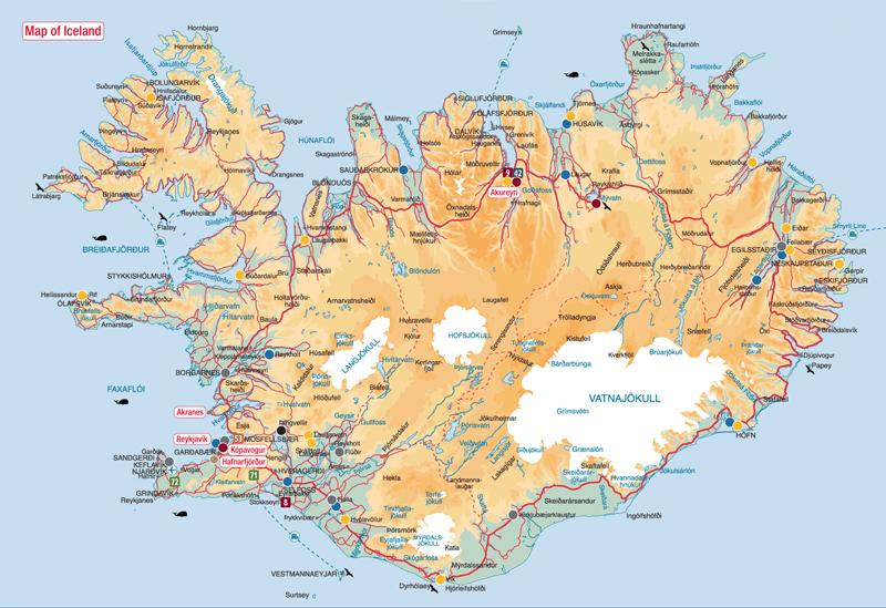 N1, la carretera circular de Islandia