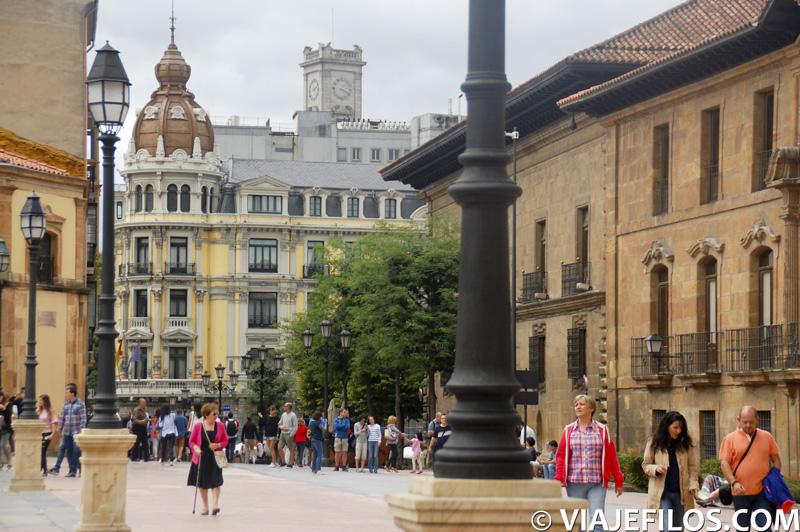 Calles y plazas de la ciudad de Oviedo