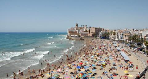 Sitges, paraíso mediterráneo