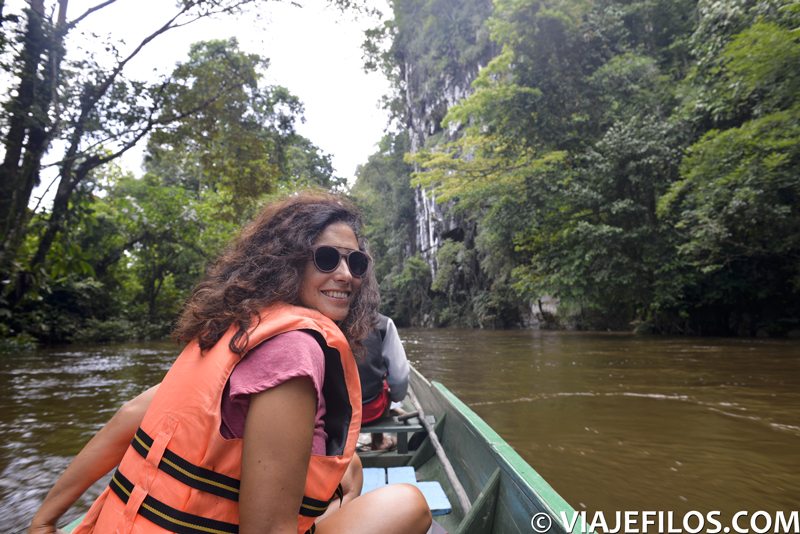 Navegación en el PN de Gunung Mulu