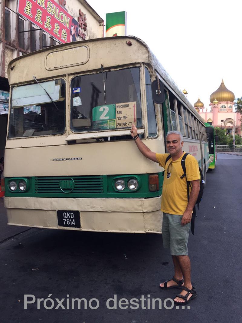 Cómo llegar a Semengok en bus
