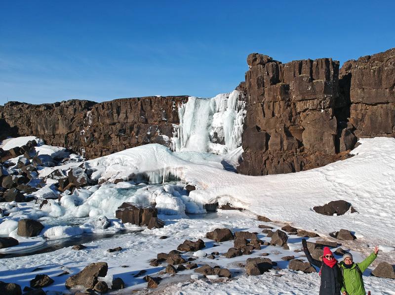 Thingvellir, Recorrido y escalas en una semana por el sur de Islandia
