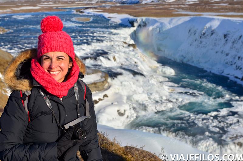 Gullfoss, Recorrido y escalas en una semana por el sur de Islandia