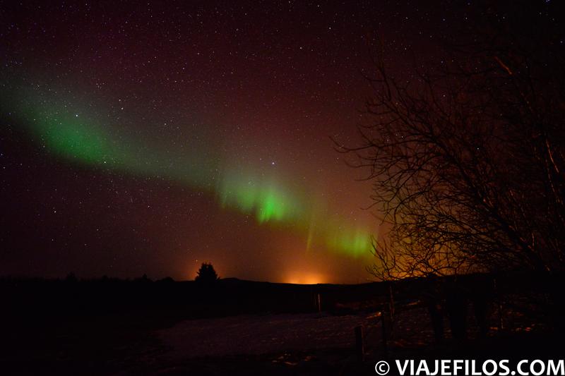 Auroras boreales en Islandia, uno de los mejores lugares dónde ver auroras boreales