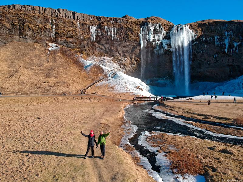 La ruta de las cascadas en el sur de Islandia