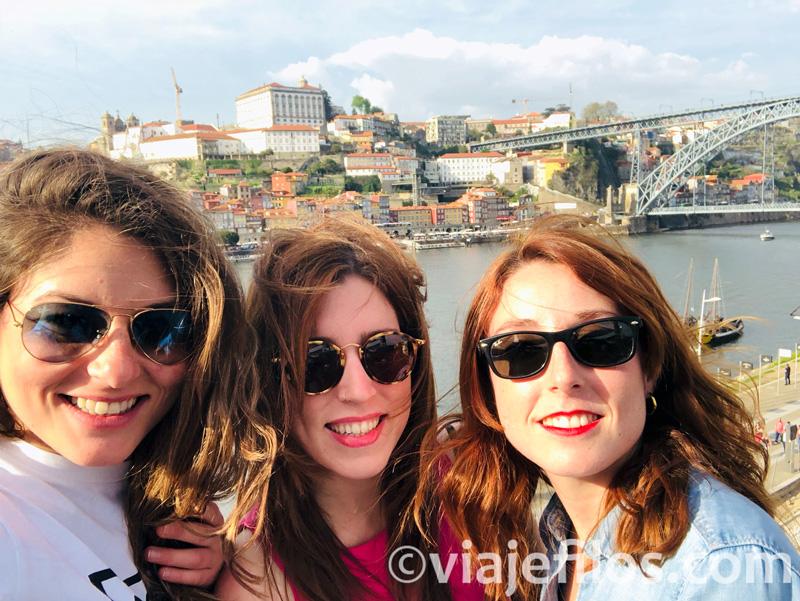 El paseo de la Ribera del Duero en Oporto