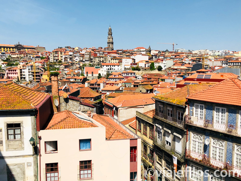 Vistas de Oporto desde la Se