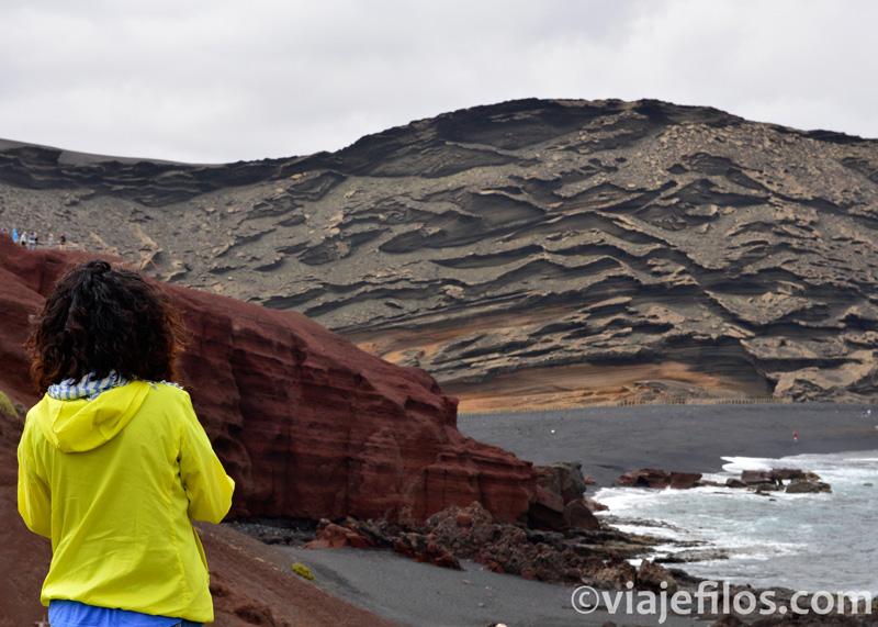 laguna de los Clicos en Lanzarote