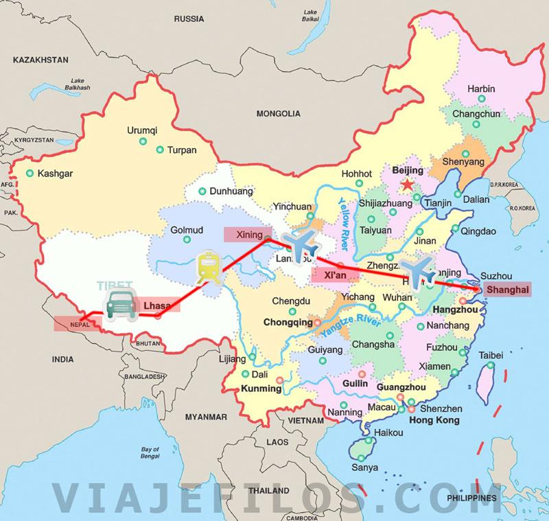 40 días entre China y Nepal. El tren de las nubes, Tíbet y lo mejor de Nepal