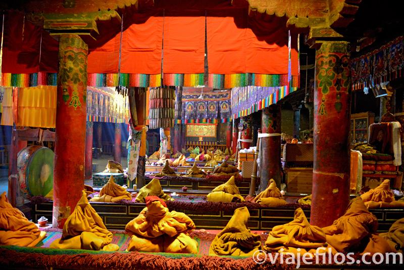 Monasterio tibetano de Shalu. Uno de los templos que visitar en un viaje a Tíbet