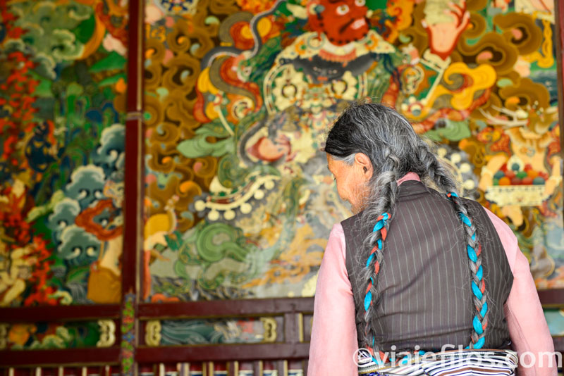 Monasterio de Shera, un viaje a Tíbet