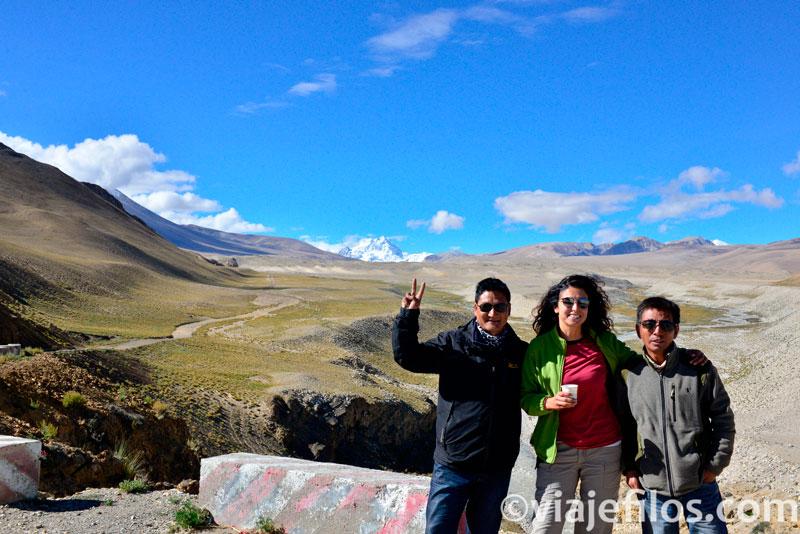 Camino de la frontera con Nepal