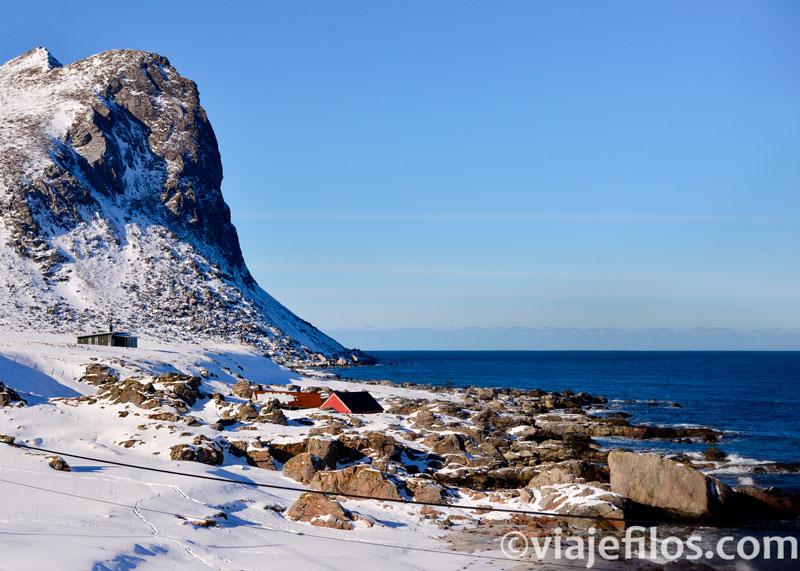 Playa de Myrland, de lo mejor de Lofoten