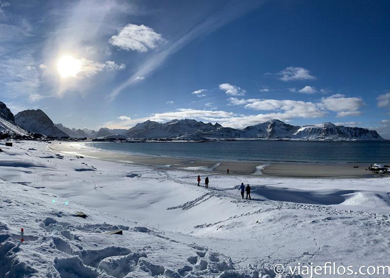 Las mejores playas de Lofoten en una recorrido de una semana en coche