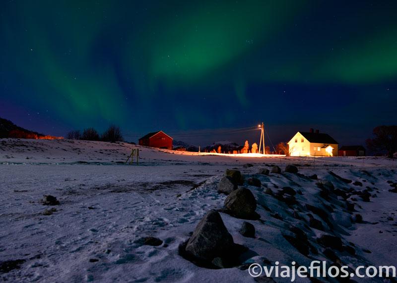 Las mejores noches de auroras en Lofoten. Cómo y dónde disfrutar de las auroras boreales en Noruega