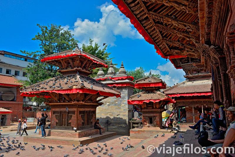 La plaza Durbar de Kathmandú