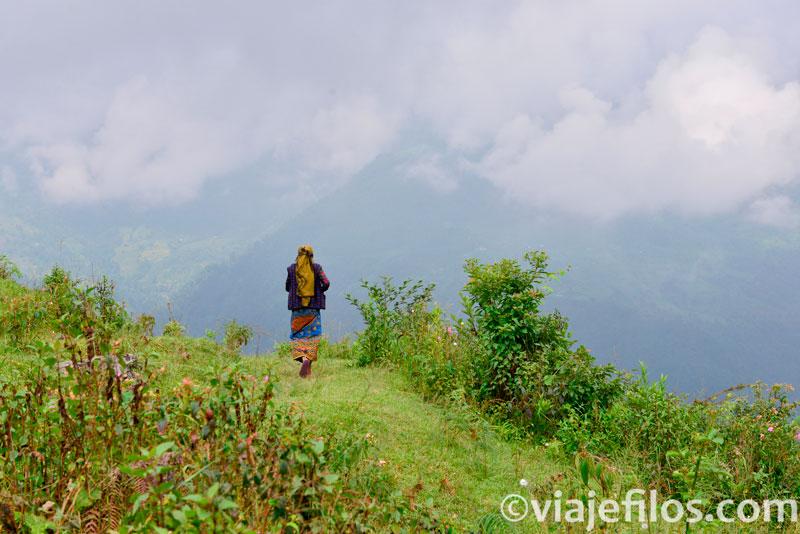 cordillera de los Annapurnas