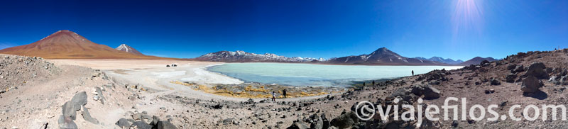 Recorriendo las lagunas multicolores de Uyuni