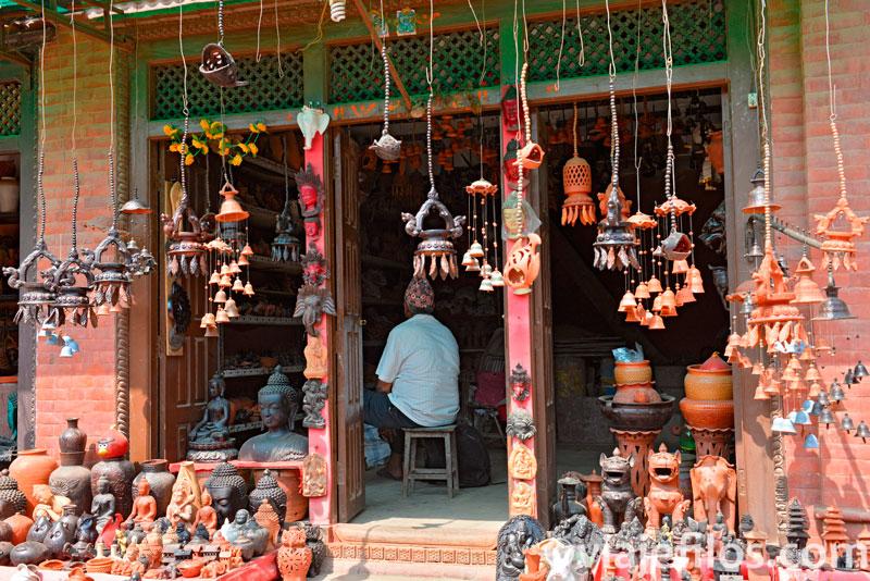 Las famosas cerámicas de Bhaktapur