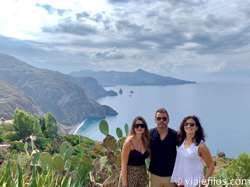 Mirador de Quattrocchi. Dos días y tres noches en las islas Eolias