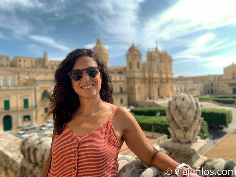 Iglesia de San Carlo al Corso de Noto, escala básica de un viaje a Sicilia en coche