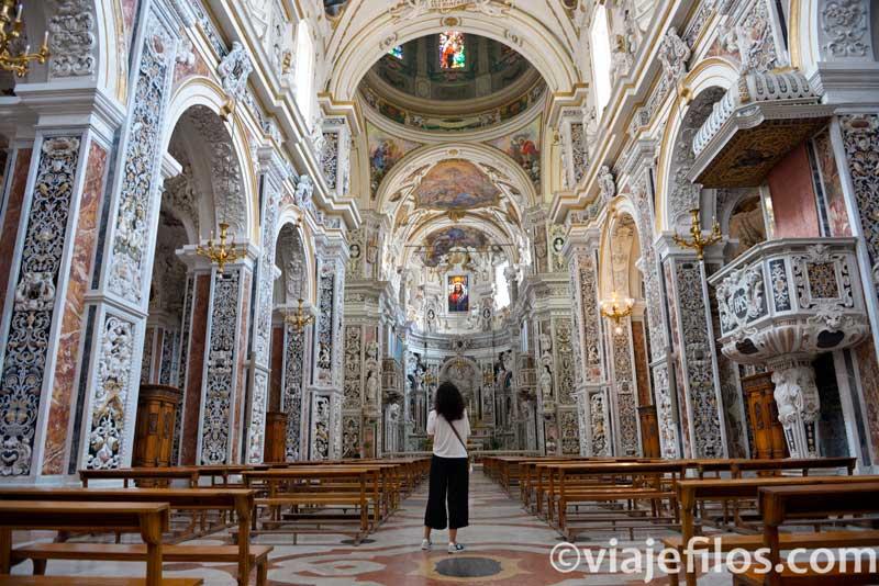 Iglesia del Gesu, escala de un road trip en Sicilia
