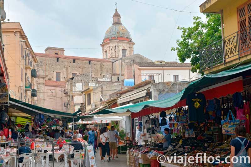 Mercados de Palermo, escala de un road trip en Sicilia