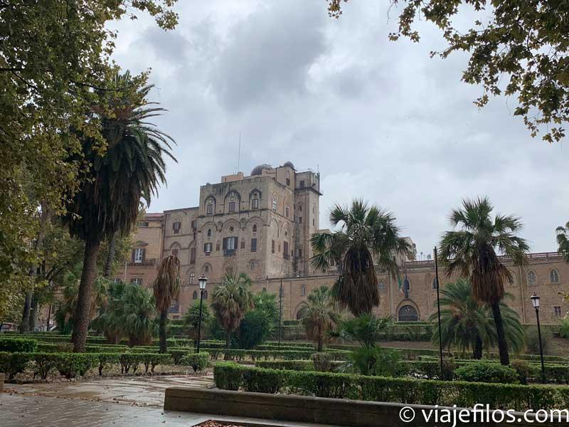 Catedral de Palermo, escala de un road trip en Sicilia