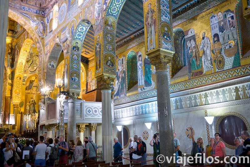 Capilla Palatina, escala de un road trip en Sicilia